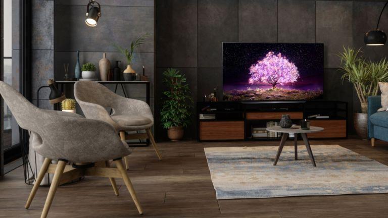 "best tv: LG 48"" C1 OLED 4K UHD Smart webOS TV"