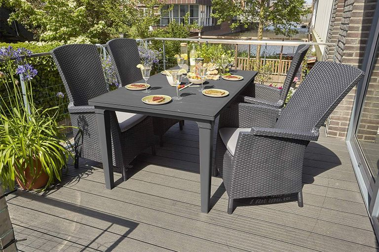 This rattan garden furniture sale on Amazon has the best pieces for bank holiday entertaining | Real Homes