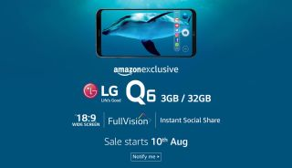 LG Q6 set to launch in India on August 10 for below Rs