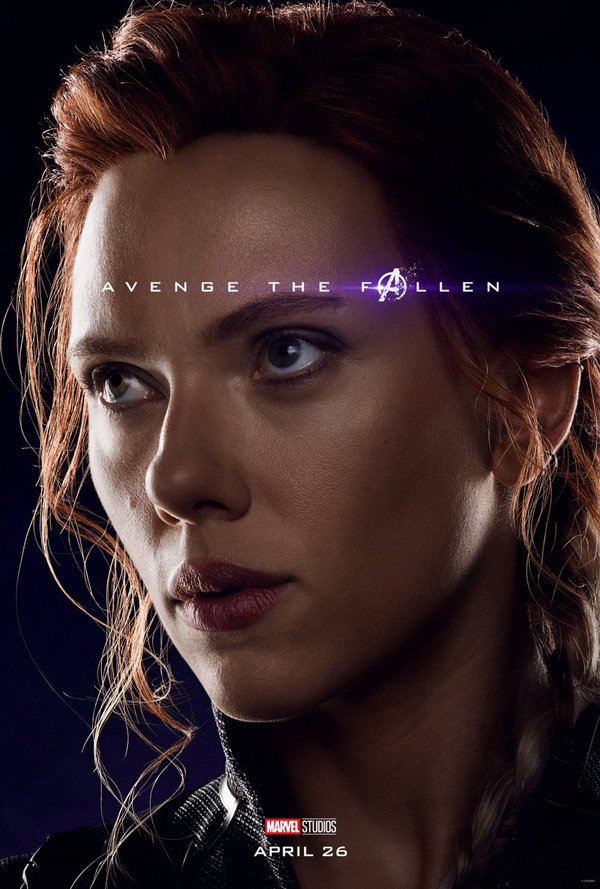 scar-jo official avengers endgame poster