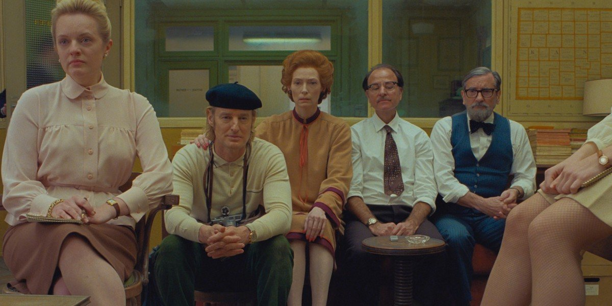 The Cast of The French Dispatch
