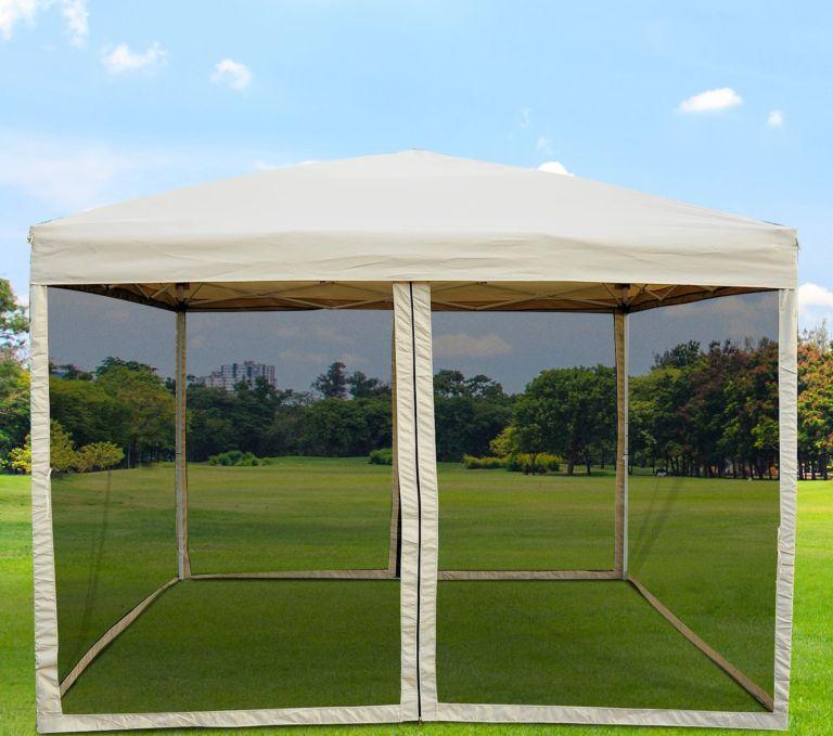 pop-up canopy tent for decks