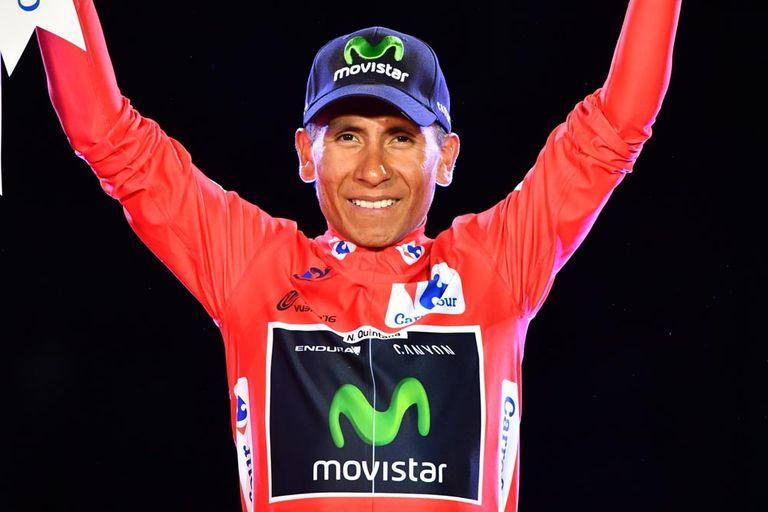 Nairo Quintana wins the 2016 Vuelta a Espana