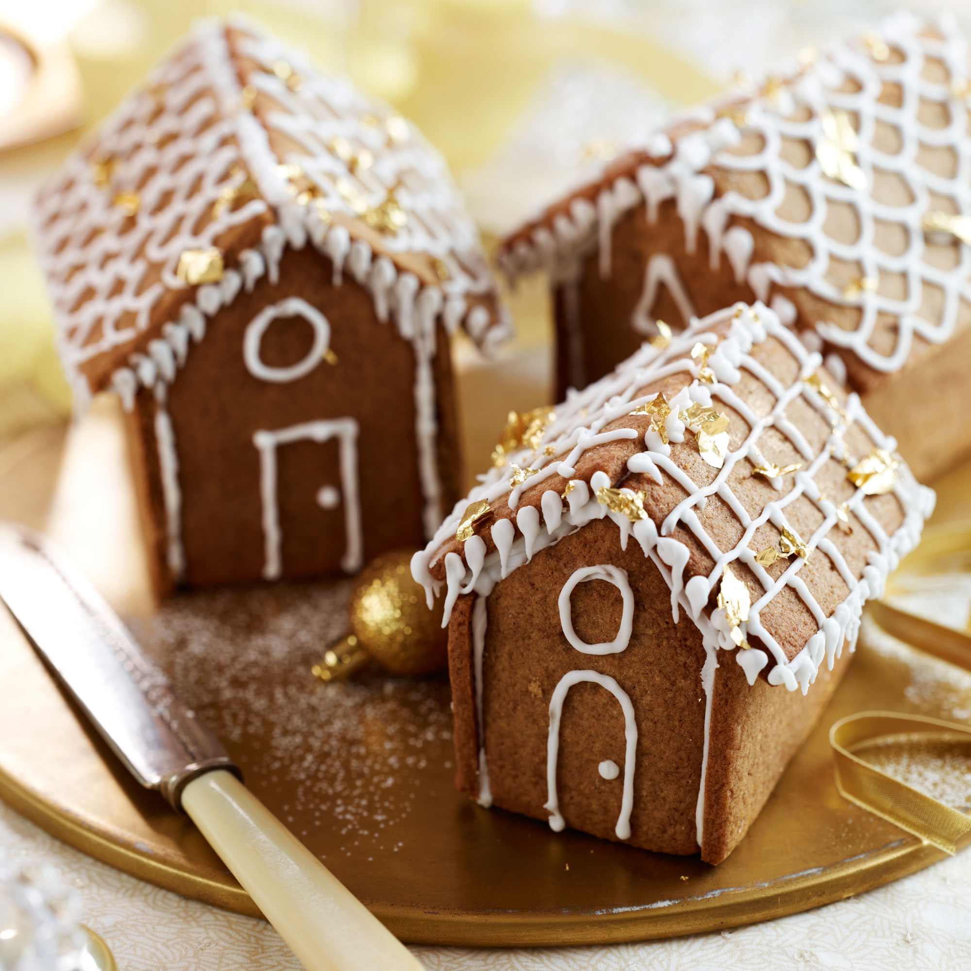 mini gingerbread houses. Black Bedroom Furniture Sets. Home Design Ideas