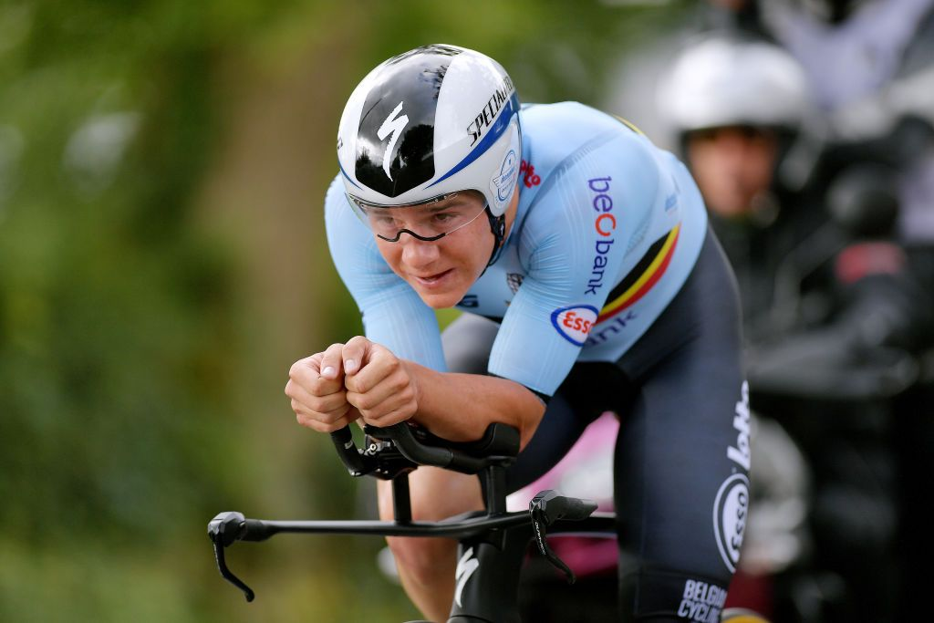 Tokyo Olympics: Van Aert and Evenepoel finish outside medals in time trial