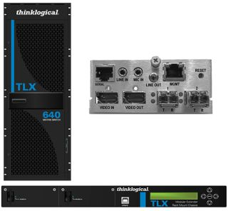 Thinklogical TLX Series Matrix Switches and Extenders