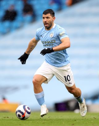 A calf injury means Sergio Aguero will miss the start of the 2021/22 season with new club Barcelona.