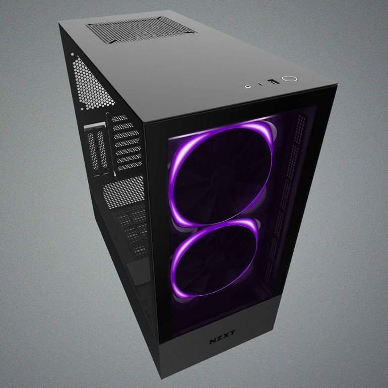 Nzxt H510 Elite Review A Performance Show Case Tom S Hardware Tom S Hardware