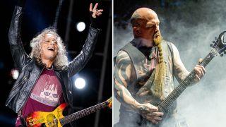 Kirk Hammett and Kerry King