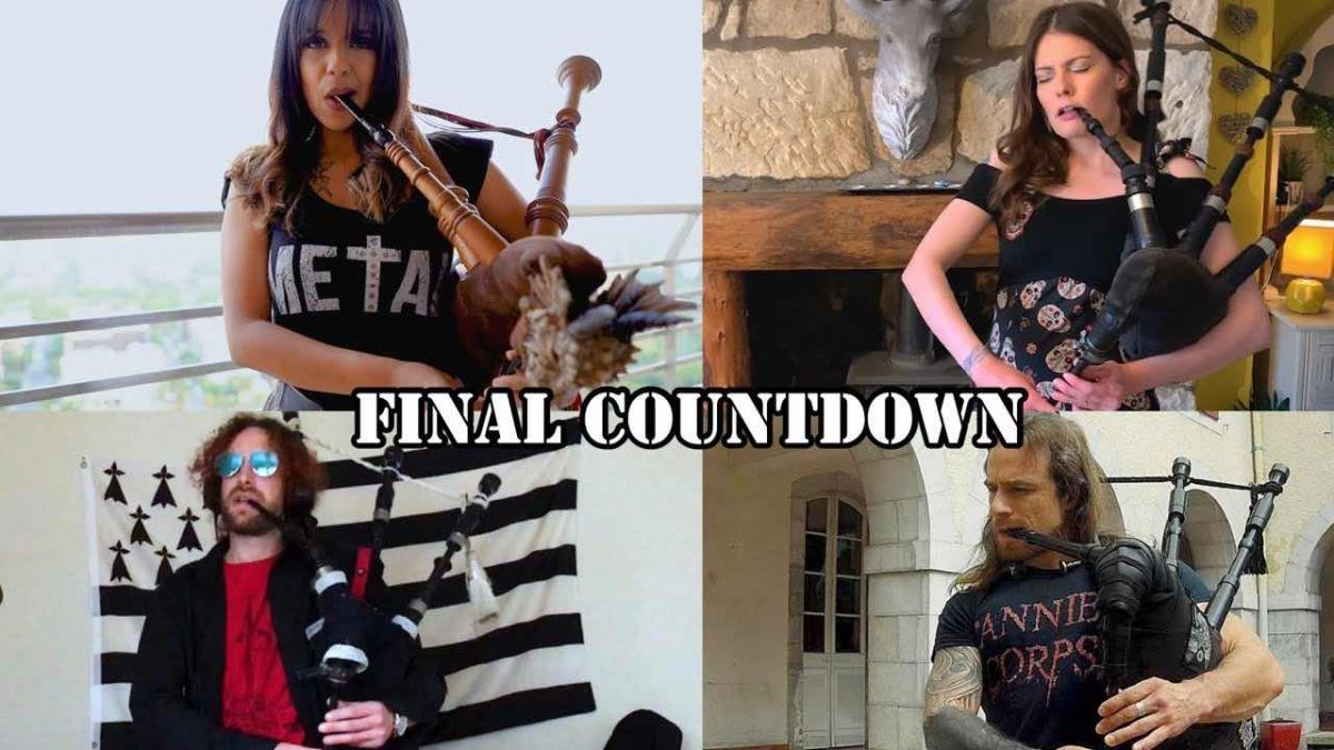 This all-bagpipe cover of The Final Countdown is either the best or worst thing ever