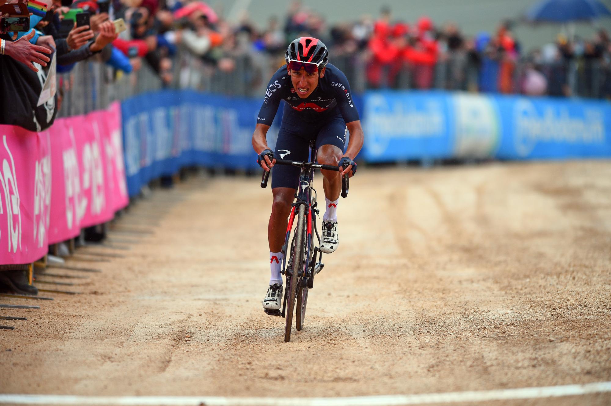 Giro d'Italia 2021 - 104th Edition - 9th stage Castel di Sangro - Campo Felice (Rocca di Cambio) 158 km - 16/05/2021 - Egan Bernal (COL - Ineos Grenadiers) - photo Dario Belingheri/BettiniPhoto©2021