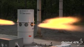 Orion abort system motor test
