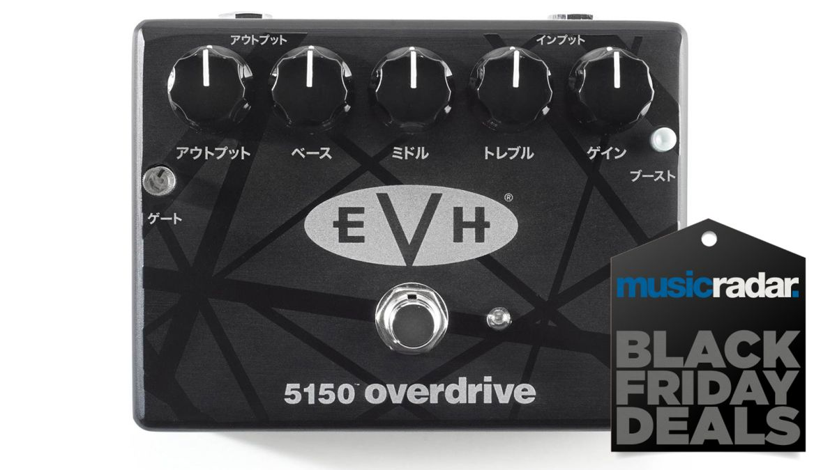 you might as well jump on this black friday van halen evh 5150 pedal deal musicradar. Black Bedroom Furniture Sets. Home Design Ideas