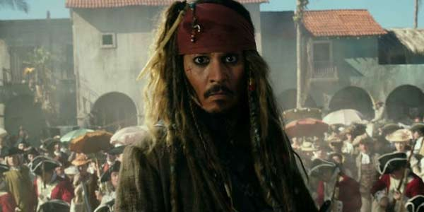 Johnny Depp working for Disney in Pirates