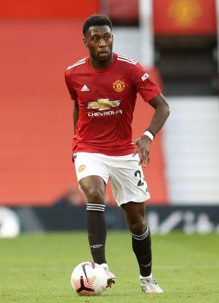 Manchester United defender Timothy Fosu-Mensah