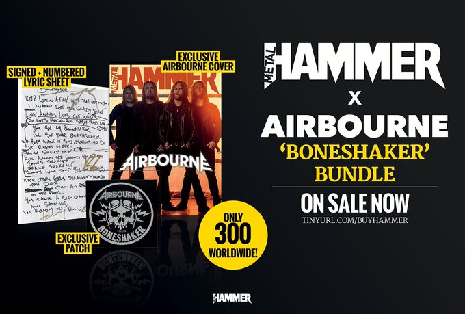 Exclusive Airbourne bundle of Metal Hammer magazine, out now! | Louder