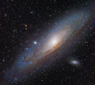 Andromeda Galaxy by Jeff Johnson