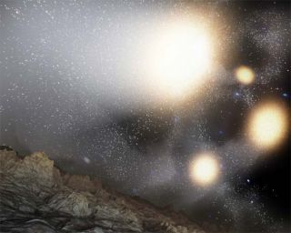 Astronomers Witness Whopper Galaxy Collision