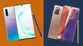 Samsung Galaxy Note 10 e Note 20