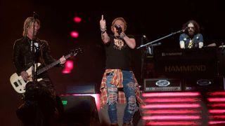 Guns N' Roses onstage