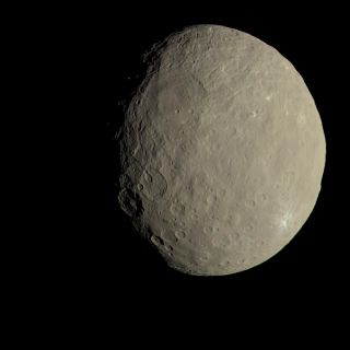 How Ceres Would Look to Human Eyes