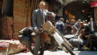 Daniel Craig in James Bond's Skyfall