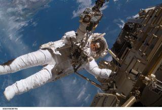 Cyborg Astronaut Space Race Heats Up