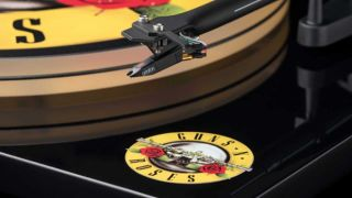Guns N' Roses turntable