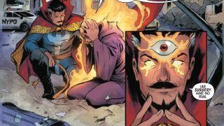 Death of Doctor Strange #1 excerpt