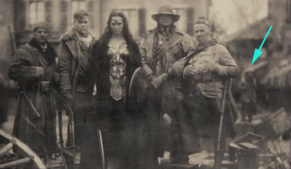 Wonder Woman Zack Snyder Cameo