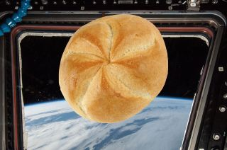 bake in space station