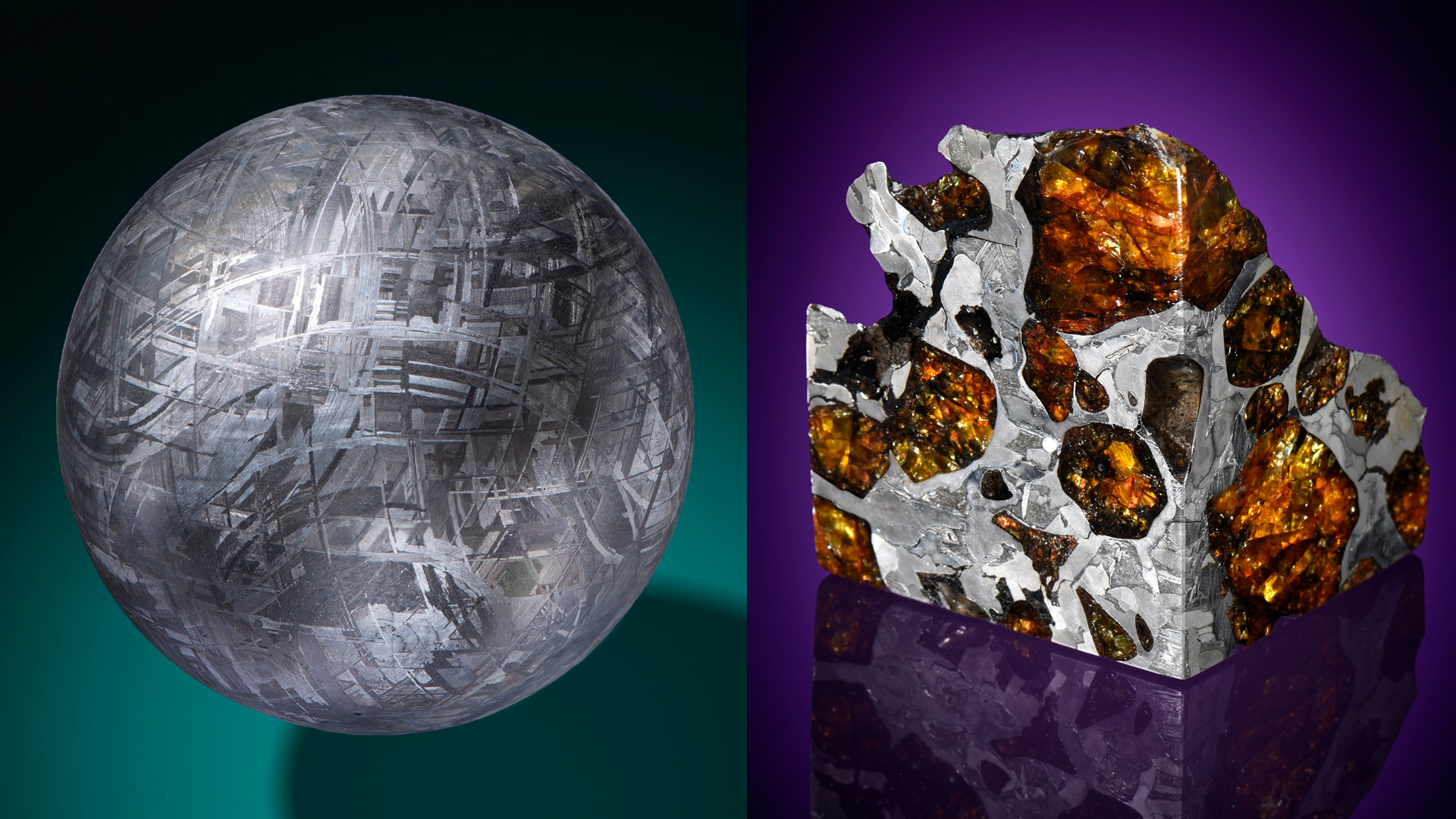 The spherical Muonionalusta meteorite and the dazzling Fukang meteorite are two of the objects in the online auction.