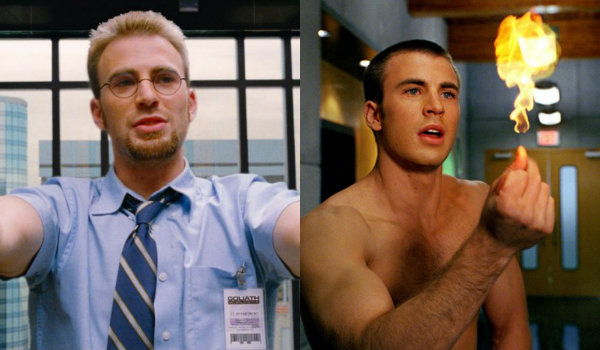 Chris Evans Fantastic Four The Losers