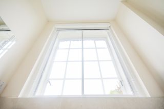 secondary glazing installed on a window