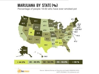 Where Americans Smoke and Grow Marijuana (Maps) | Live Science