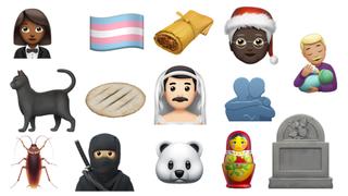 Various emoji symbols