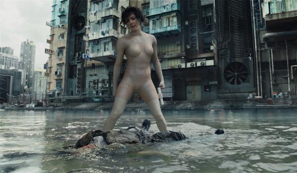 Scarlett Johansson fighting as The Major
