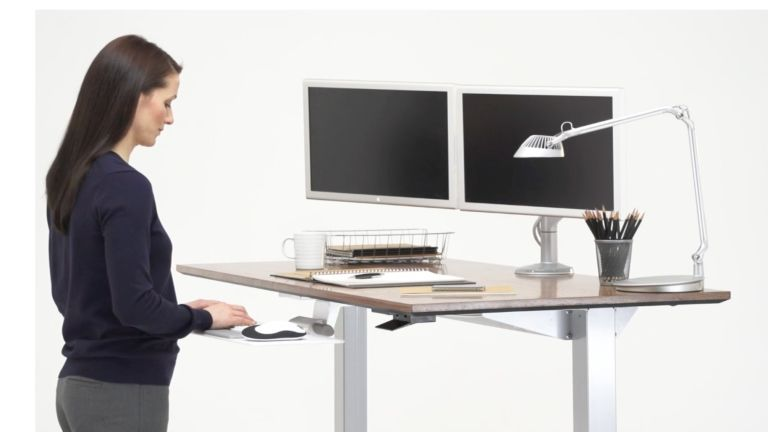 Best standing desk: Humanscale Float