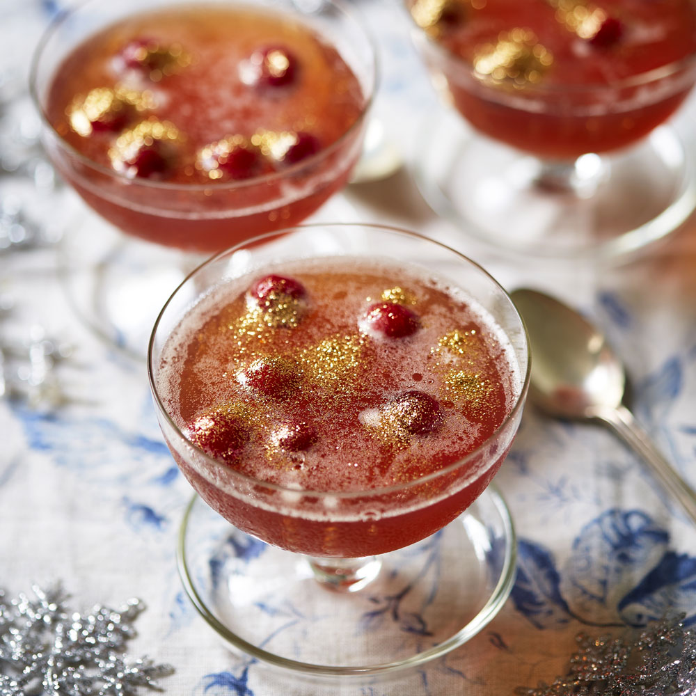 Sloe Gin Jelly With Prosecco | Dessert Recipes | Woman&home