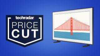 Samsung the frame QLED TV deal price sale