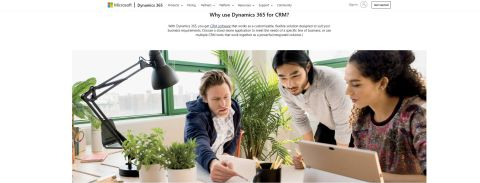 Microsoft Dynamics 365 CRM Review Hero