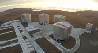 SO's Very Large Telescope at Paranal Observatory in Chile