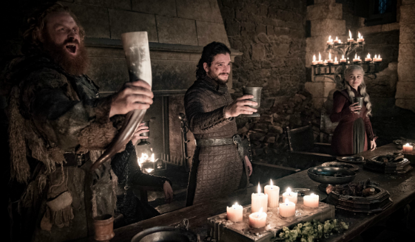 Game of Thrones Tormund Giantsbane Kristofer Hivju Jon Snow Kit Harington Daenerys Targaryen Emilia