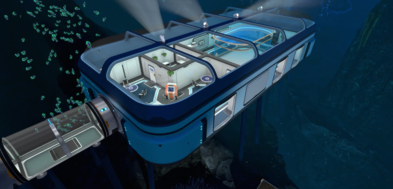 Build a better base with Subnautica: Below Zero's latest update | PC Gamer