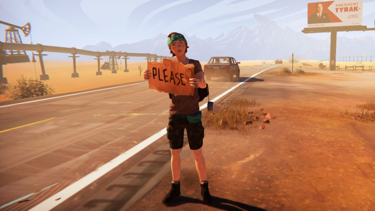 No two journeys are the same in the wondrous and dangerous hitchhiking adventure Road 96