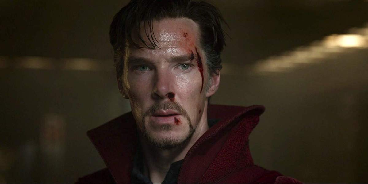 Benedict Cumberbatch as Stephen Strange in Doctor Strange
