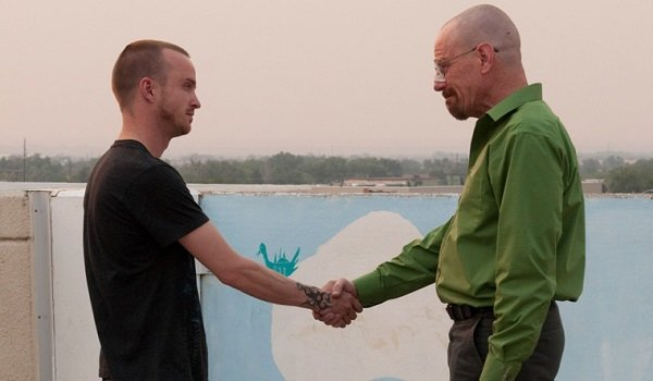 Jesse and Walter Breaking Bad AMC