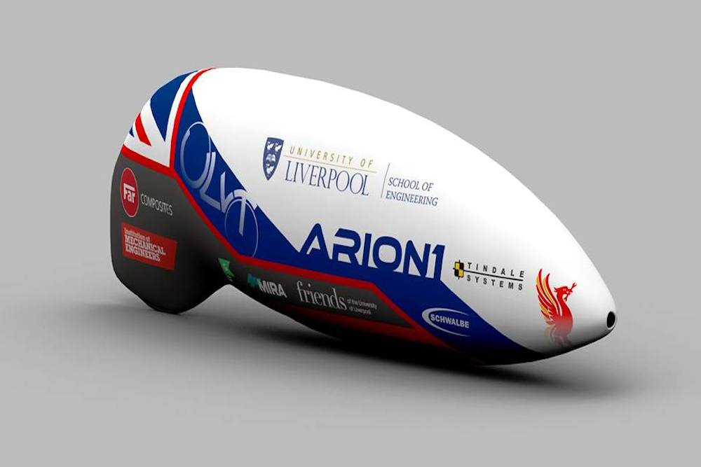 University Of Liverpool Students Target Human Powered Vehicle