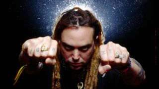 A press photo of Max Cavalera in the 90s