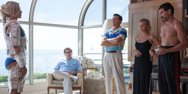 The Wolf of Wall Street Jordan Belfort and his associates look into covering people in money
